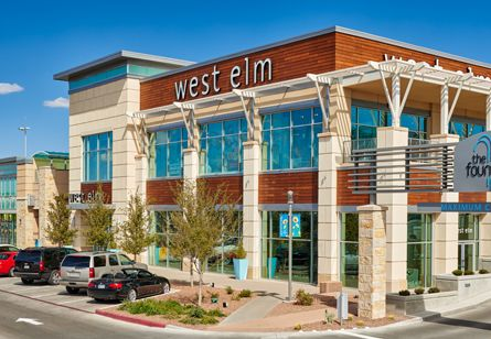el paso tx shopping mall the fountains at farah west elm. Black Bedroom Furniture Sets. Home Design Ideas