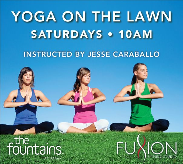Yoga On The Lawn