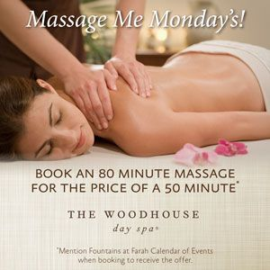 Massage Me Monday's: The Woodhouse Day Spa