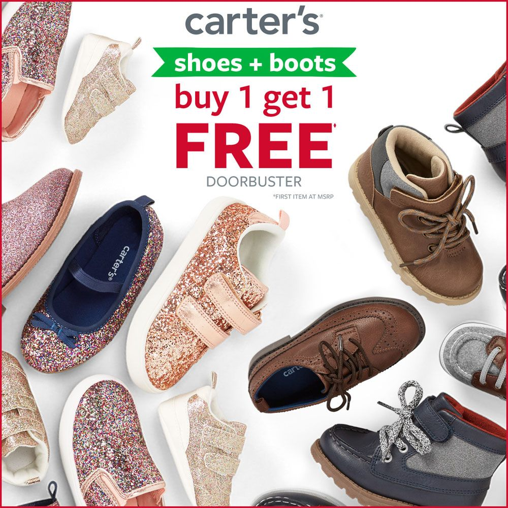 Shoes + Boots Buy 1, Get 1 Free Doorbuster
