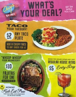 Chuy's - What's your deal?