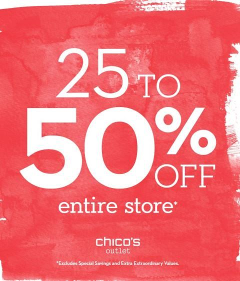 25- 50% off Everything*