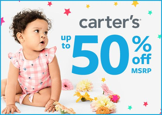 Carter's Up to 50% Off*