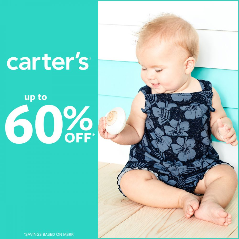 Carter's Summer Blast Off! Up To 60% Off*
