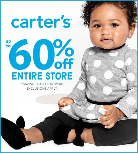 Carter's Fall In Love! Up To 60% Off*