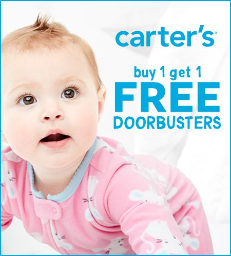 Carter's Buy One Get  One Free* Doorbusters