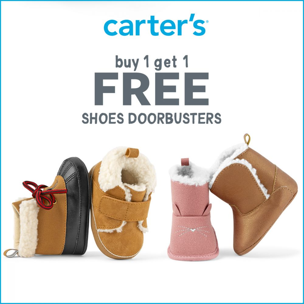 Carter's Shoes Buy 1 Get 1 Free