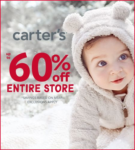 Carter's Oh What Fun! Up to 60% Off