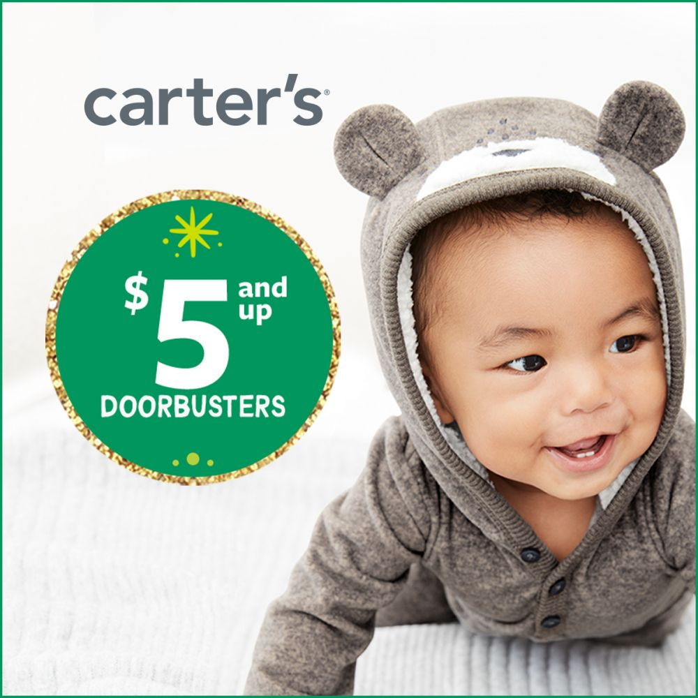 Carter's $5 & Up Giftable Doorbusters
