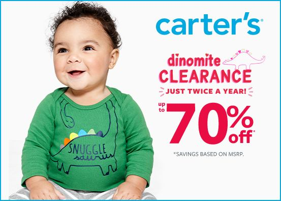 Carter's Dinomite Clearance Up to 70% Off