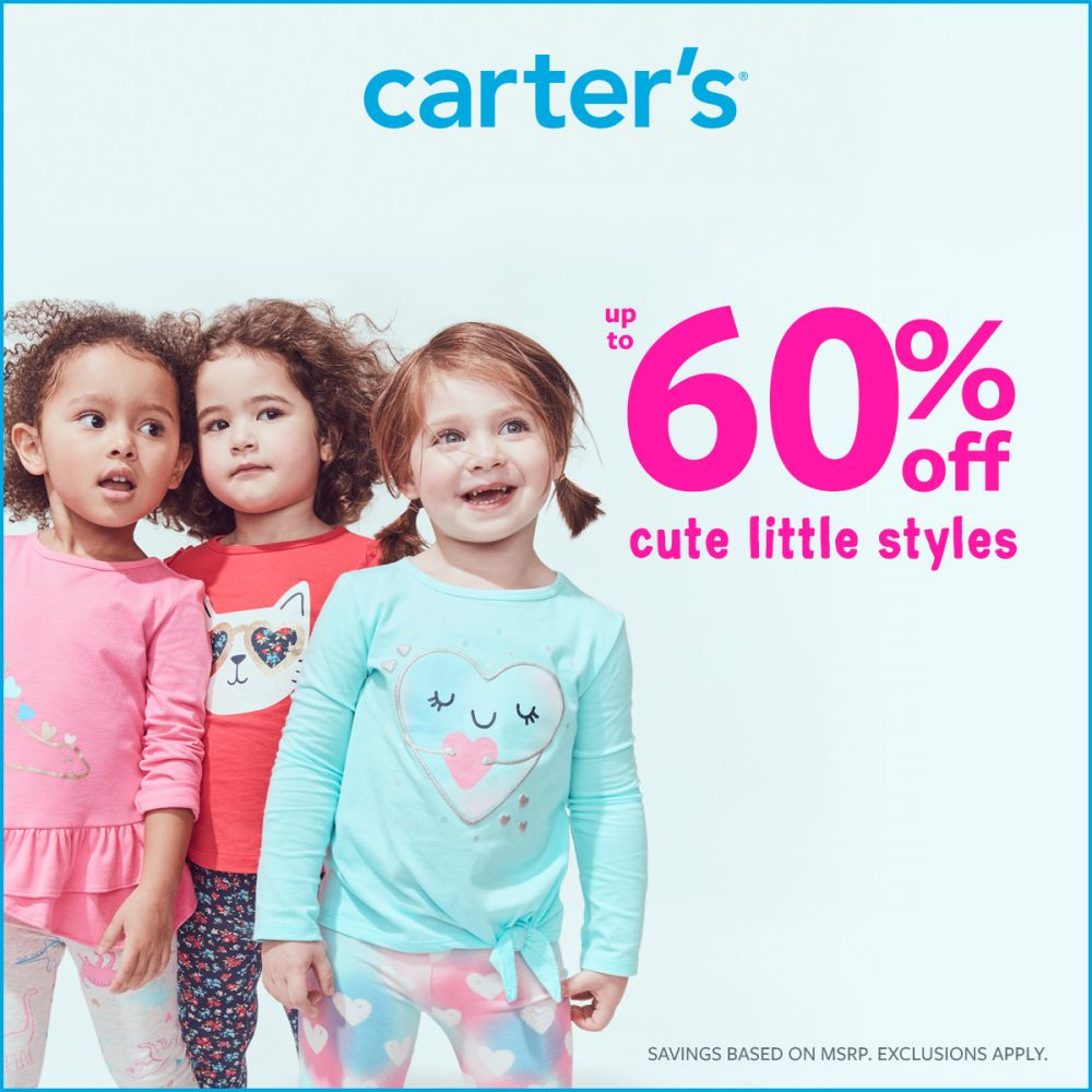 Carter's Lots of Love Up to 60% Off