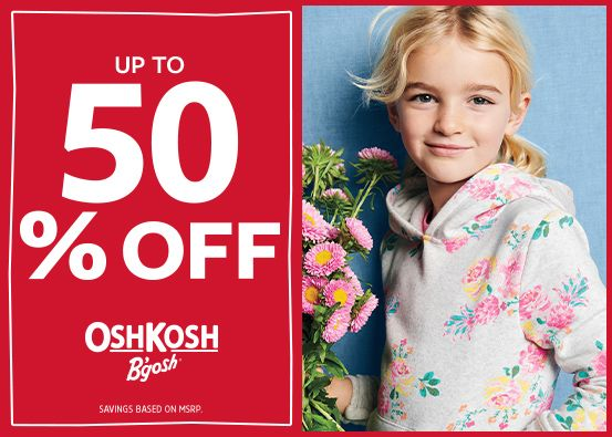 OshKosh Be Mine Up To 50% OFF