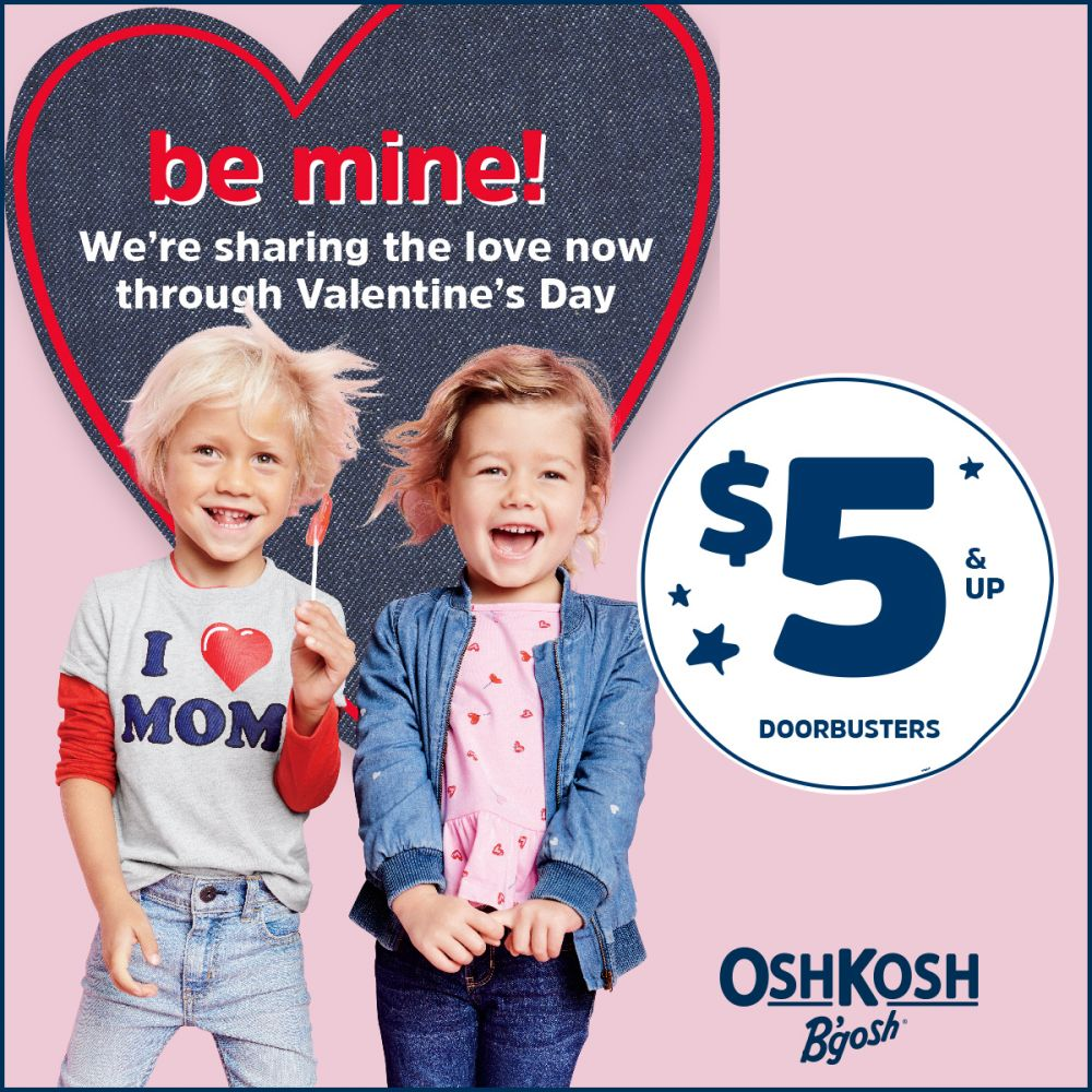 OshKosh $5 & Up  Doorbusters