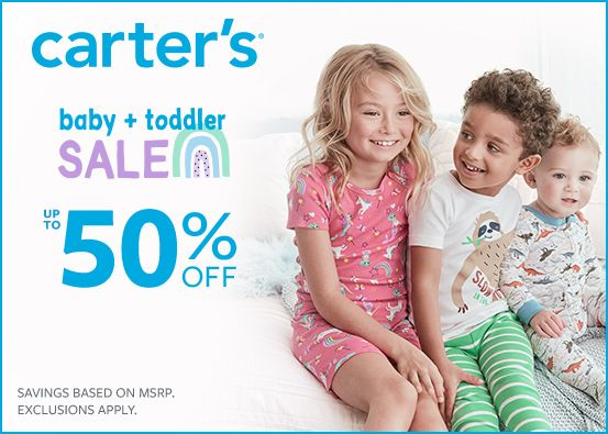 Carter's Up to 50% Off